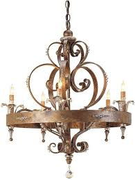 french country wrought iron chandelier with swarovski crystals within most cur french country chandeliers gallery