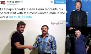 Sean Penn under investigation after meeting with El Chapo Guzman in Mexico