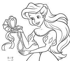 Disegni Da Colorare Delle Principesse Disney On Line Timazighin Con