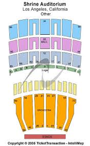 La Shrine Auditorium Seating Chart Shrine Auditorium Los Angeles Tickets Shrine Auditorium