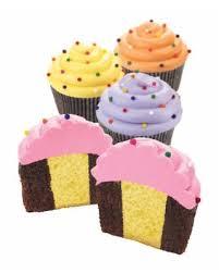 Shopping Special Wilton Cake Pans Two Tone Cupcake Insert Pan