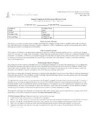 Employee Evaluation Letter Sample For Student Template