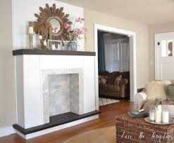 make fake fireplace decor modern on cool amazing simple in make fake fireplace home design