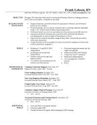 Registered Nurse Job Description Resume Sample Nurse Resumes
