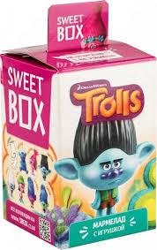 <b>Мармелад</b> жевательный с <b>игрушкой Sweet</b> box trolls в ...