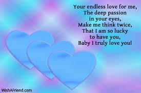 Very Deep Love Messages