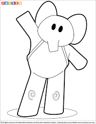 Small Picture Pocoyo Coloring Picture