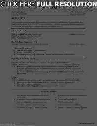Sample Resume For Nursing Assistant Entry Level Resume Resume