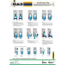 Moves Shoulder Pulley Exercise Chart 2018 Indd