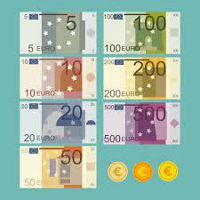 Banknotensatz in Euro-Währung 1179030 Vektor Kunst bei Vecteezy
