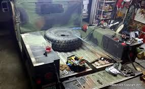 humvee diy upgrade how to convert 2 man hmmwv to 4 man hmmwv troop seats and or cargo area side rails