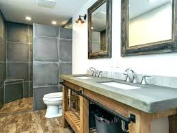 concrete bathroom sink concrete bathroom vanity sink large size of utility vessel look concrete countertop bathroom
