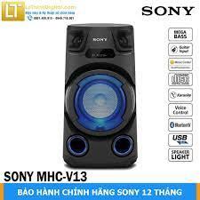 [Giao miễn phí tại TP.HCM] Dàn âm thanh HiFi Sony MHC-V13 - Hãng phân phối  - Bảo hành chính hãng 12 tháng, Giá tháng 12/2020