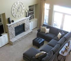 living room sectional with chaise large gray sectional couch sectional furniture living room