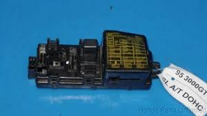 used mitsubishi 3000gt dash parts for sale 3000gt aftermarket radio at 1996 Mitsubishi 3000gt Vr4 Under Dash Fuse Box Cover