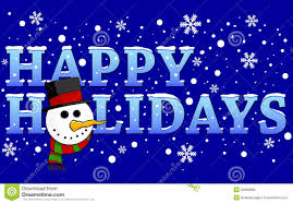 Holidays Snowman Happy Holidays Stock Vector Illustration Of Holidays 22069888