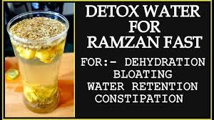 Detox Water For Ramadan Weight Loss Detox Water To Lose