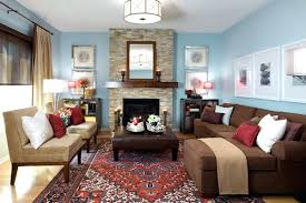 blue walls brown furniture. Blue Wall Brown Furniture Beautiful Living Room Ideas Sofa Wallpaper Navy Bedroom Walls
