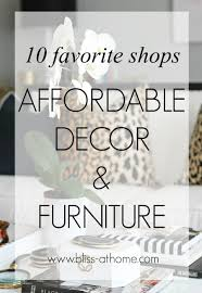 10 favorite shops for home decor