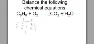 how to balance chemical equations the right way science