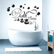 wall art sayings decoration enthralling bathroom wall art sayings using letters decals stickers alongside white porcelain