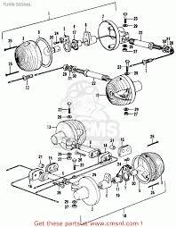 Turn signal parts list