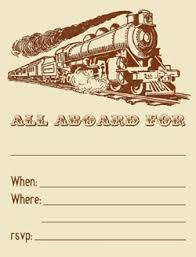 train invitation template free free printable train invitations marvelous train party invitations