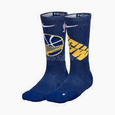 Details About Nike Unisex Gsw Elite Crew Nba Basketball Socks Golden State Warriors Sx7599 495
