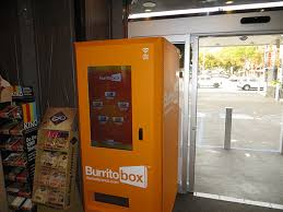 Burrito Vending Machine Simple We Tried A Futuristic Burrito Vending Machine Called 'Burrito Box