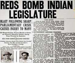 bhagat singh revolutionary terrorist truthisnotallbright batukeshwar dutt and bhagat singh news clipping