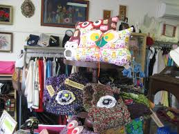 Winter Display @Mary Walsh-Reynolds (Myrtle Dove Vintage). Owl pillows by  Sera Matteo and owl scarves by Kim Novak. | Owl scarf, Owl pillow, Doves