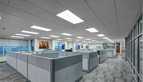 improving acoustics office open. Sound-absorbing Rockfon Ceiling Products Shorten Reverberation Time, Improve Speech Intelligibility, Decrease Noise Levels And Improving Acoustics Office Open