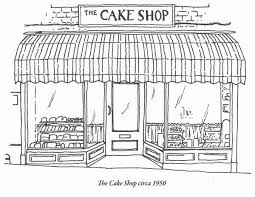 The Cake Shop Bakery Shop Front Kind Of What Im Going For For The