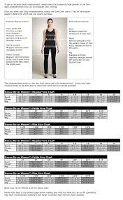 Elie Tahari Size Chart Tahari Woman Plus Size Chart Best Picture Of Chart