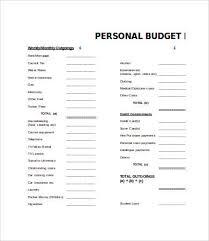 Sport Budget Template Training Budget Template