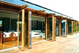 nana wall wood folding glass system by systems pulse green monterey bi
