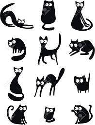Dessin Chat Noir Banque D Images Vecteurs Et Illustrations Libres