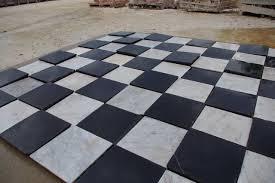 black and white tile floor. Popular Black And White Marble Tile Floor Antique Spanish Monastery Tiles Mediterranean