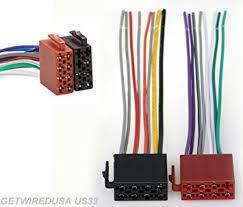 amazon com radio power plug stereo wire harness male back clip radio power plug stereo wire harness male back clip set 16 pin 8 8