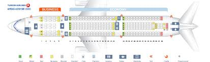 Airbus A330 302 Seating Chart Seat Map Airbus A330 300 Turkish Airlines Best Seats In The