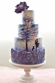 42 Eye Catching Unique Wedding Cakes Wedding Ideas Silhouette