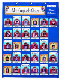 Helpers Chart Attendance Classroom Helpers Chart