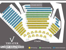 Vegas The Show Saxe Theater Seating Chart Tickets To V The Ultimate Variety Show