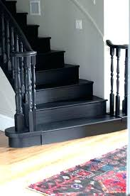 painted stair risers black painted stair risers stairs and a new old rug en painted stair painted stair risers