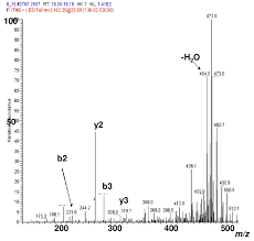 Ms Ms Spectrum Of M Z 482 From The Chromatographic Peak At