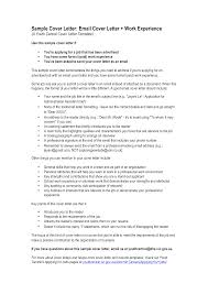 format for email cover letters email cover letter formal templates at