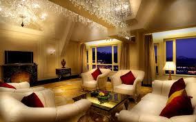Italian Design Living Room Interior Murano Glass Chandeliers Italian Designer Luxury