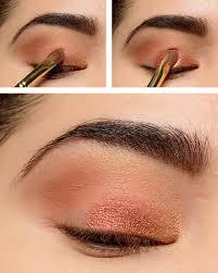 warm smokey eye makeup tutorial