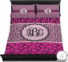 triple animal print bedding set queen duvet