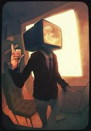 tv head costume. tv head costume e